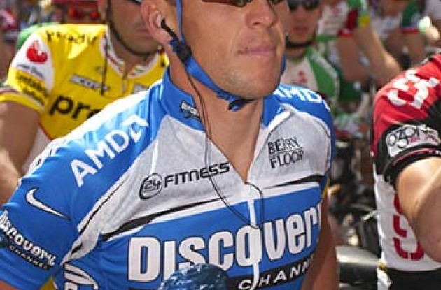 Lance Armstrong. Photo copyright Ben Ross/Roadcycling.com.