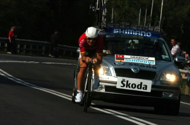 Bert Grabsch (Germany) on his way to victory.