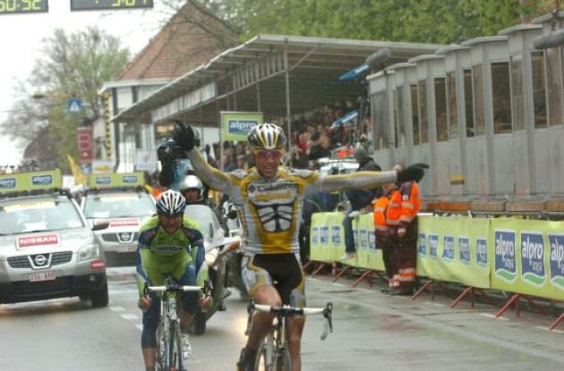 Boasson Hagen wins Gent-Wevelgem 2009.