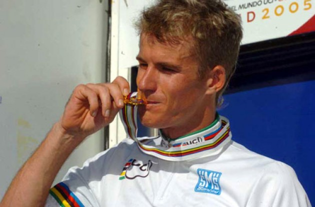 World TT champion Michael Rogers. Photo copyright Fotoreporter Sirotti.