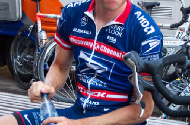 David Zabriskie. Photo copyright Roadcycling.com.