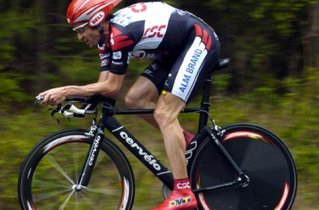 Bobby Julich (Team CSC). Photo copyright Roadcycling.com.