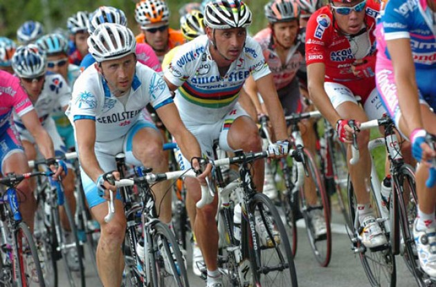 Rebellin and Bettini.