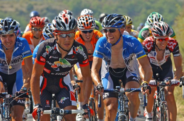 Today was one tough day for the riders. Photo copyright Roadcycling.com.