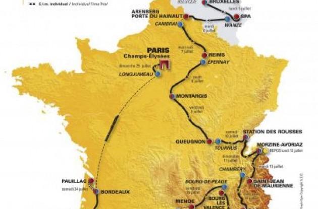 2010 Tour de France.