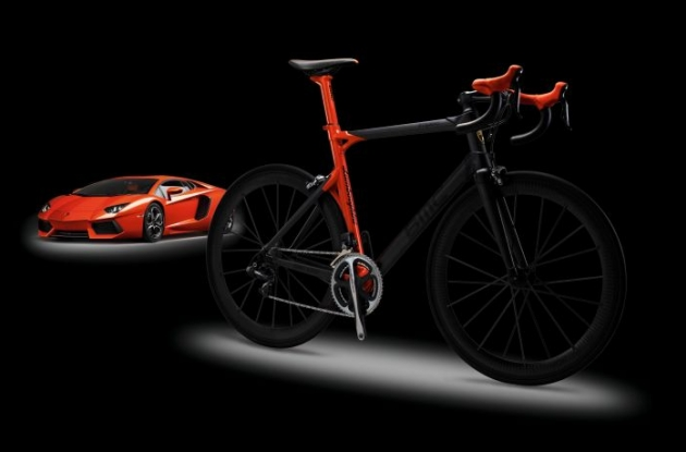 Wroom, wroom ... the BMC Impec Automobili Lamborghini Edition.