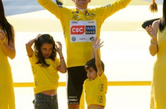 2008 Tour de France winner Carlos Sastre Candil.
