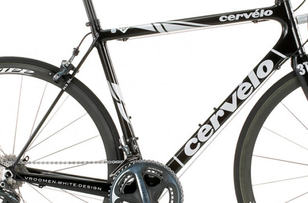 Cervelo R3 SL frame close-up.
