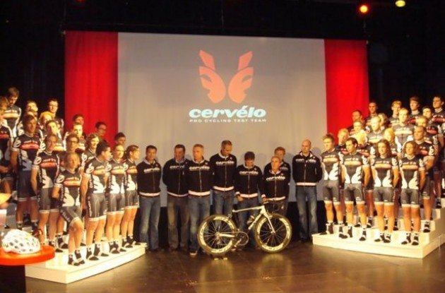 Photo from Cervelo TestTeam presentation. Photo copyright Roadcycling.com.