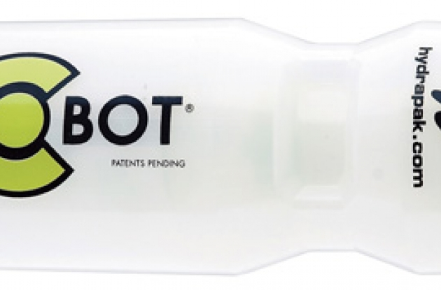 HydraPak Gel-Bot water bottle and gel bottle combined.