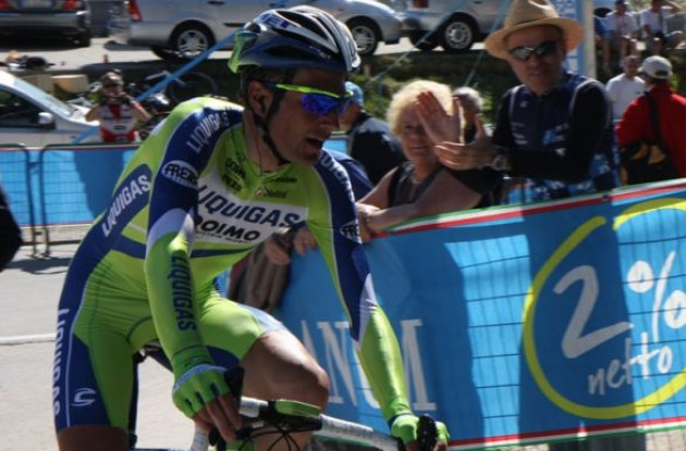 Ivan Basso: kept his losses to a minimum against stronger TT opponents.