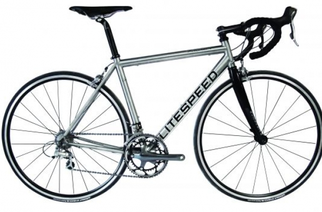 2009 Litespeed Xicon titanium bike.