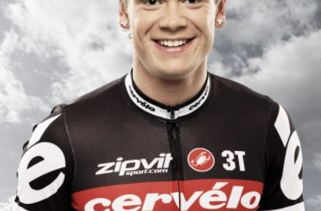 Martin Reimer (Cervelo TestTeam) is ready for the 2010 Paris-Roubaix on Sunday. Photo copyright Tim de Waele.