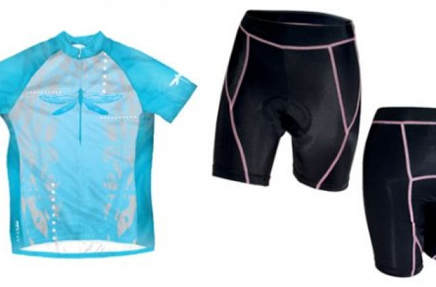 Primal Wear Dragonfly jersey and Prima short.