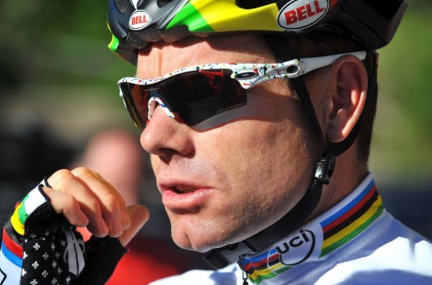 Cadel Evans (BMC Racing Team) is ready for the Giro d'Italia 2010. Photo copyright Tim de Waele.