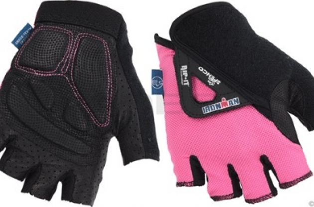 Spenco Ironman T.2 Elite bike gloves for women.