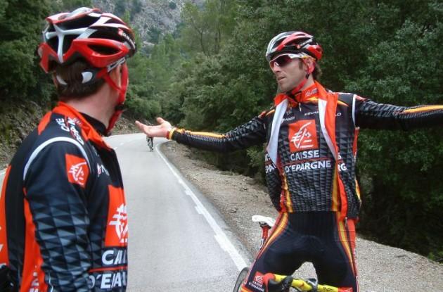 Alejandro Valverde (Team Caisse d'Epargne).