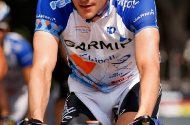 "Dave Zabriskie (Team Garmin-Chipotle). Photo copyright <A HREF=""http://pa.photoshelter.com/usr-show/U0000yEwV90OAoAE"" TARGET=""_BLANK"">Ben Ross</A>."