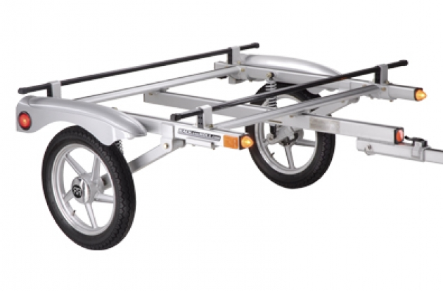 Yakima Rack and Roll bike transportation trailer.