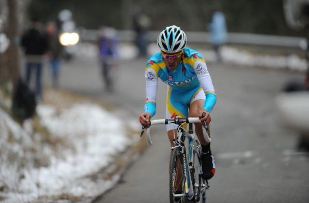 Alberto Contador (Team SaxoBank - SunGard). Photo Fotoreporter Sirotti.