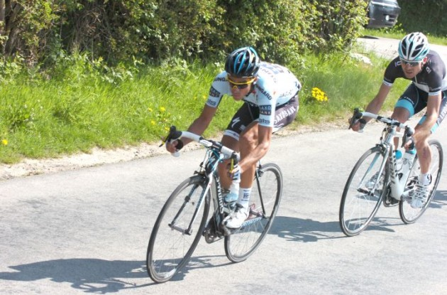 Team Saxo Bank-SunGard's Grand Tour Champion Alberto Contador has been sick leading up to the 2011 Giro d'Italia. Photo Fotoreporter Sirotti.