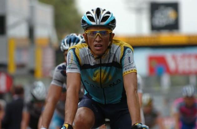 Alberto Contador. Photo copyright Fotoreporter Sirotti.