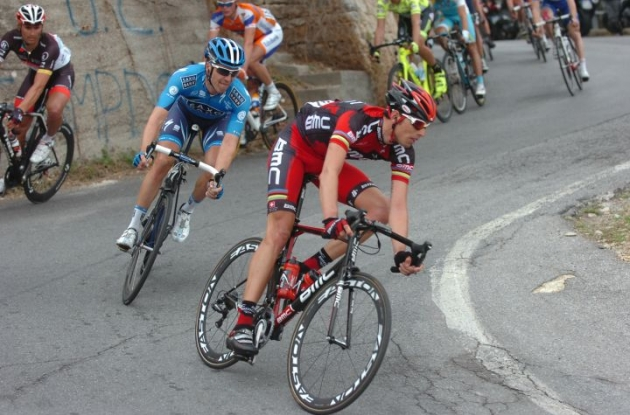 Alessandro Ballan will lead the BMC Racing Team in the 2012 Vuelta a Espana. Photo Fotoreporter Sirotti.