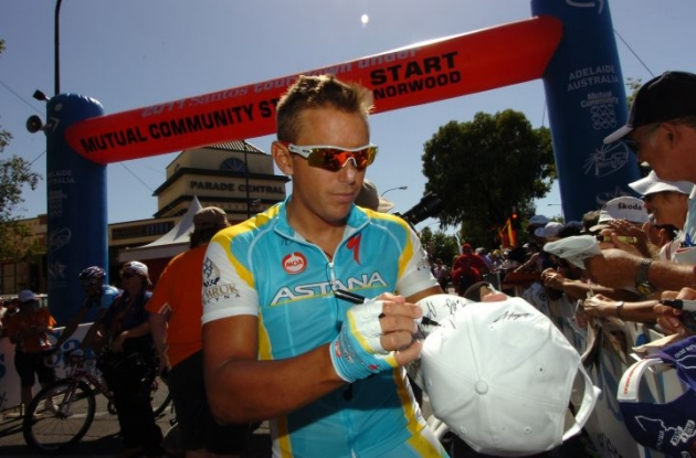 Allan Davis (Team Astana). Photo Fotoreporter Sirotti.