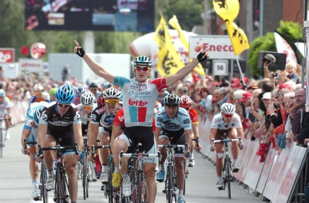 Andre Greipel .. is he ready for two more wins? Stay tuned to Roadcycling.com to find out! Photo copyright Fotoreporter Sirotti.