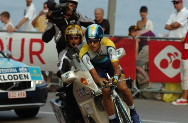 Germany's Andreas Klöden (Team Astana). Photo copyright Fotoreporter Sirotti.