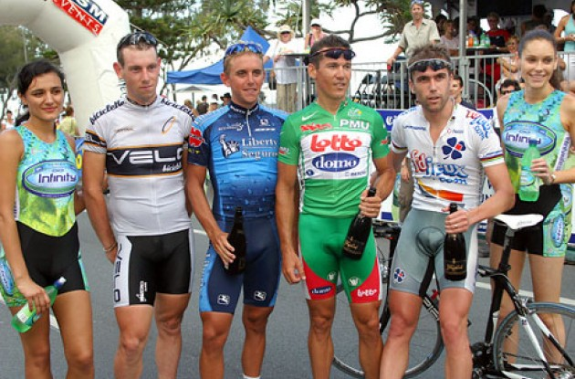 Brad, Davis, McEwen and not least a couple of nice podium girls. Grrrrr! David Magahy - www.goldcoastphotography.com