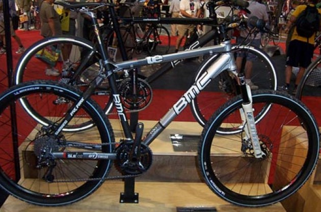 BMC mountain bike (Model BMC Team Elite 01). Photo copyright Roadcycling.com.