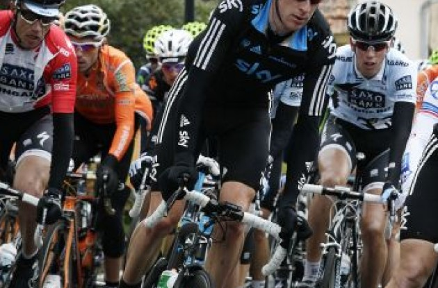 Bradley Wiggins. Photo Fotoreporter Sirotti.
