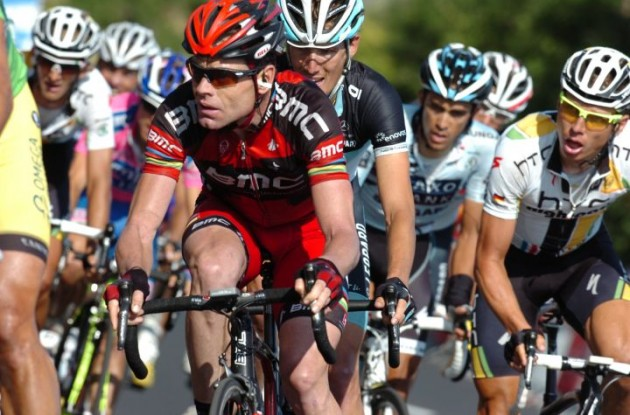 Cadel Evans (BMC Racing Team). Photo Fotoreporter Sirotti.