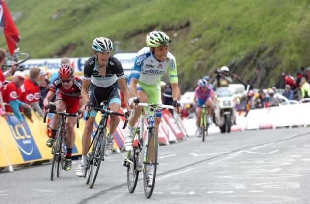 Ivan Basso. Photo Fotoreporter Sirotti.