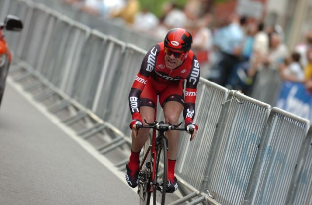 Cadel Evans (Team BMC Racing). Photo Fotoreporter Sirotti.