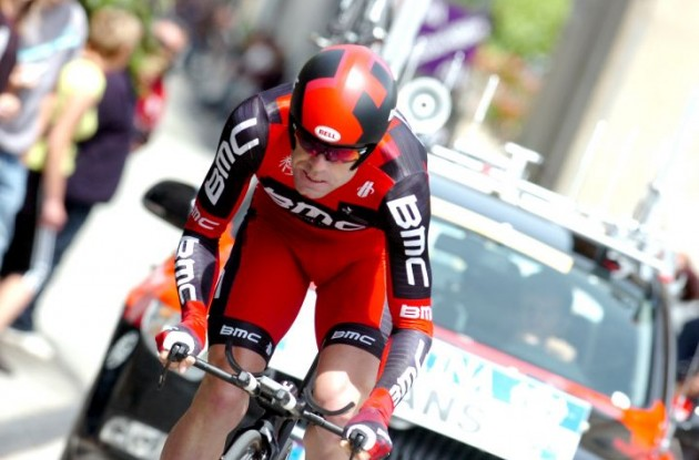 Cadel Evans is ready to fight for the overall victory in the Tour de France 2011. Photo Fotoreporter Sirotti.