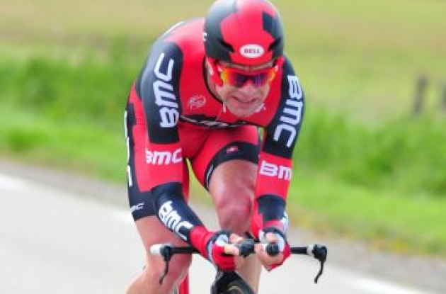 Team BMC Racing's Tour de France Champion Cadel Evans. Photo Fotoreporter Sirotti.