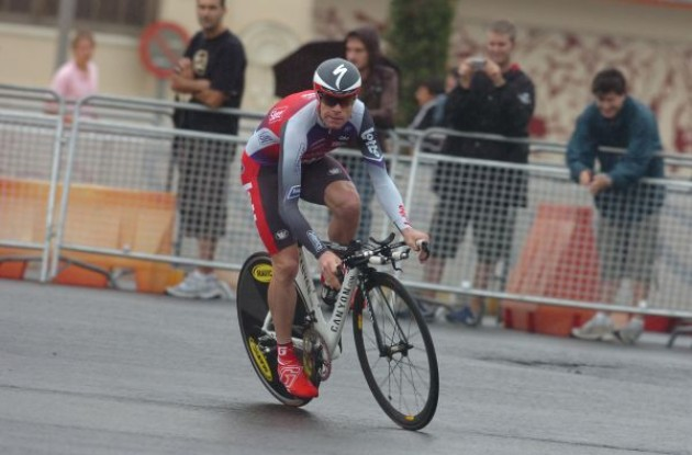 Cadel Evans. Photo copyright Fotoreporter Sirotti.