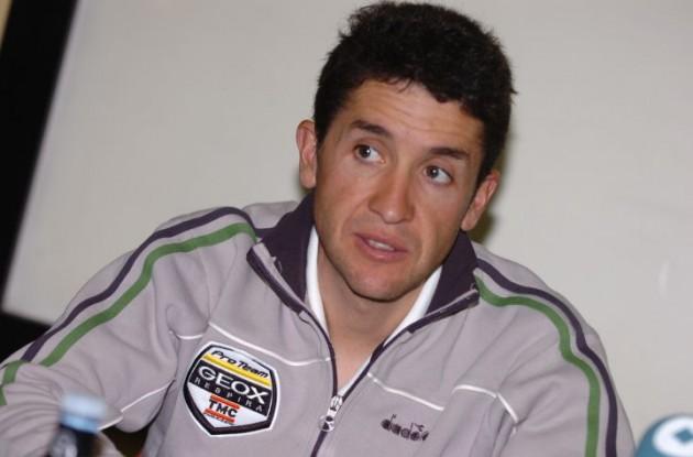Carlos Sastre. Photo Fotoreporter Sirotti.