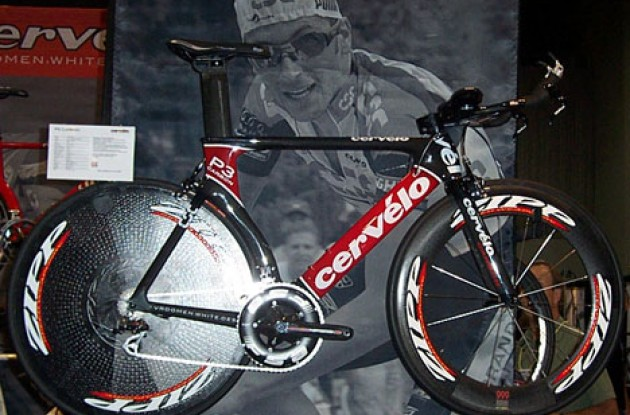 Cervelo P3 Carbon. Photo copyright Roadcycling.com.