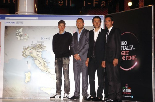 Jacob Fuglsang will not take part in the 2012 Giro d'Italia because of an injury. Photo Fotoreporter Sirotti.