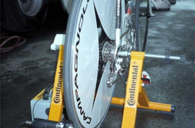 Continental's tuning liquid applicator.