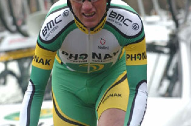 Tyler Hamilton (Phonak Hearing Systems) placed 10th in today's time trial and finished 12th in the final overall rankings. Photo copyright Fotoreporter Sirotti.