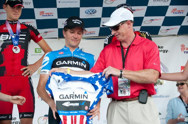 David Zabriskie is the new United States National Time Trial Champion. Photo Casey Gibson / USA Cycling