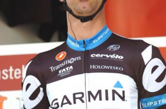 Castelli-sponsored Team Garmin-Cervelo's David Millar. Photo Fotoreporter Sirotti.