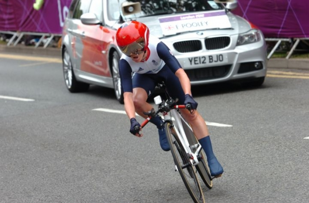 Great Britain's Emma Pooley. Photo Fotoreporter Sirotti.