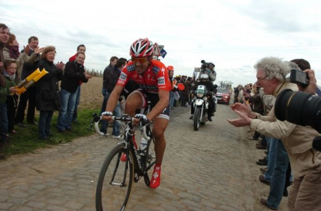 Fabian Cancellara. Photo copyright Fotoreporter Sirotti.
