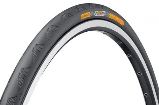 Continental GP 4000 road tires. Photo copyright Roadcycling.com.