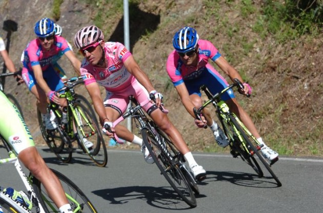 Giro d'Italia leader Joaquin Rodriguez. Photo Fotoreporter Sirotti.
